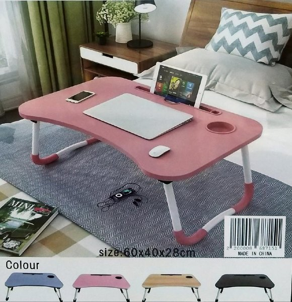 Used Foldable laptop Table Brand New in Dubai, UAE