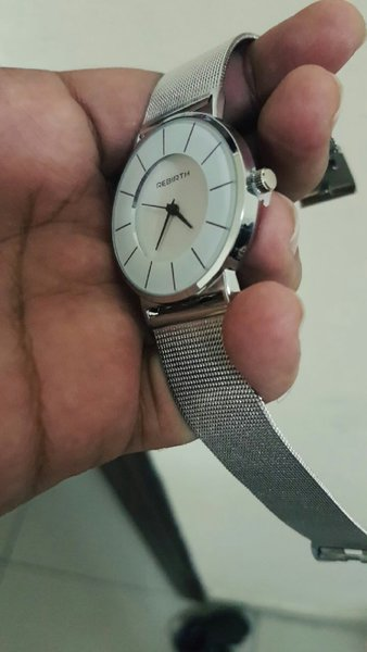 Used REBIRTH thin dial MeshSteel Unisex Watch in Dubai, UAE