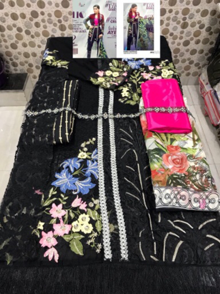 Used Shalwars - Unstitched heavy embroidery   in Dubai, UAE