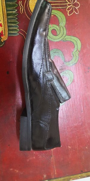 Used Like New shoes size 46 leather genuine in Dubai, UAE