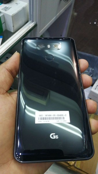Used LG G6 BLACK 32GB 4G SINGLE SIM in Dubai, UAE