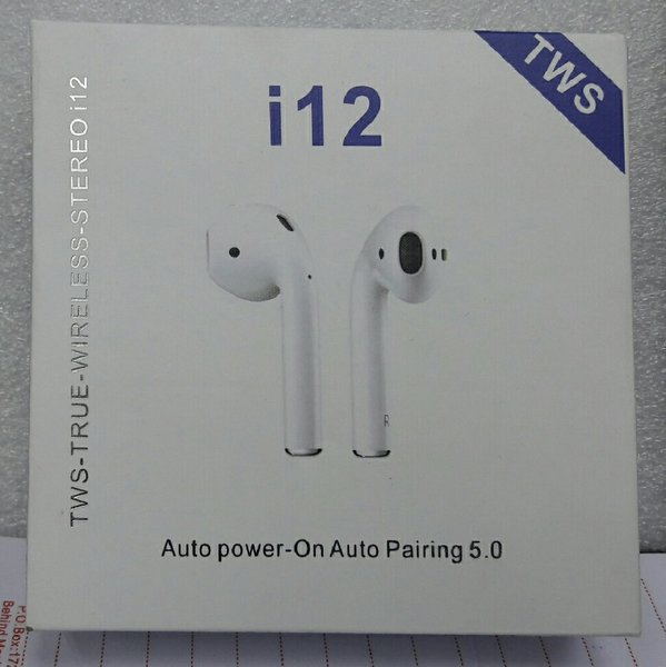 Used Wireless Earbuds TWS i12 in Dubai, UAE