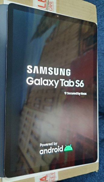 Used Samsung Galaxy Tab S6 WiFi + 4G LTE 2019 in Dubai, UAE