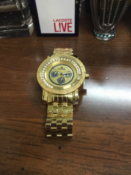 Used JWB Gold plated and diamond Authentic in Dubai, UAE