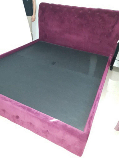 Used Bed with mattress for sale  in Dubai, UAE