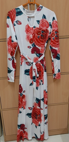 Used Long maxi dress, XL in Dubai, UAE
