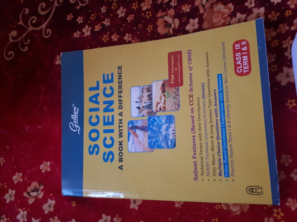 Used SST guide book for 9th CBSE in Dubai, UAE