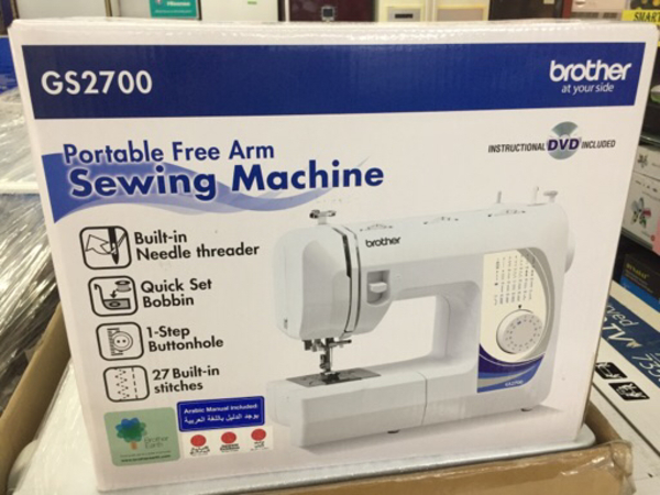 Used Brother sewing machine GS 2700 in Dubai, UAE