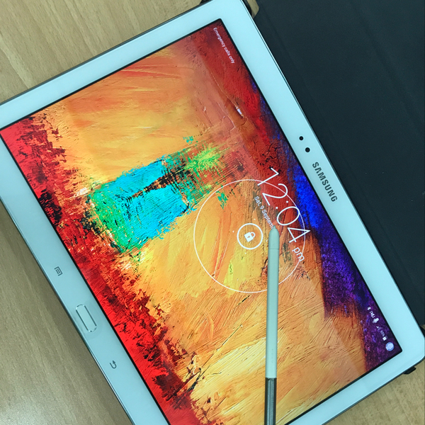 Used Samsung Galaxy Note 10.1 Inch 16GB & Upto 64gb 3gb Ram Samsung Touch Winz UI, 4G LTE White Color, 8mp Camera in Dubai, UAE