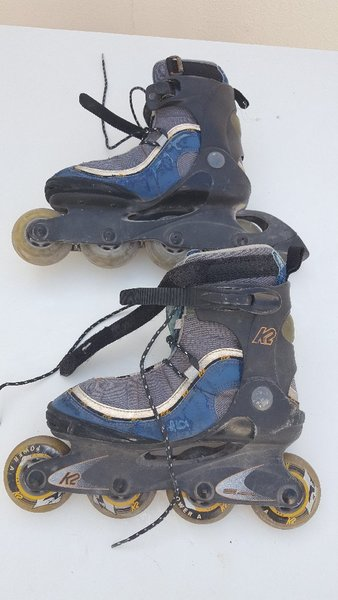 Used K2 Roller Blades size 38 very often used in Dubai, UAE