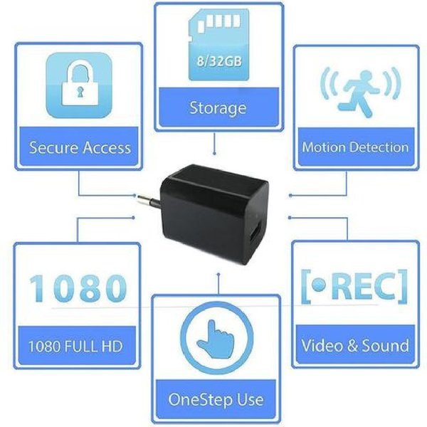 Used 1080P USB CHARGER HIDDEN CAMERA in Dubai, UAE