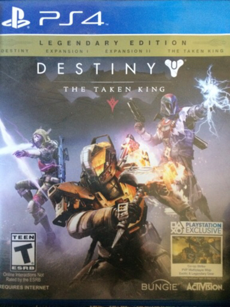 Used Destiny: the taken king PS4 for sale in Dubai, UAE
