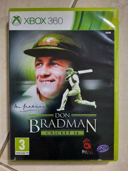 Used Xbox 360 Game Don Bradman Cricket in Dubai, UAE