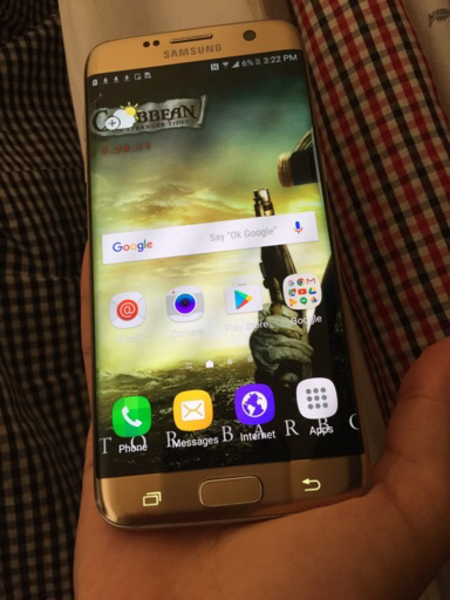 Used Samsung Galaxy s7 Edge 32 Gb  in Dubai, UAE
