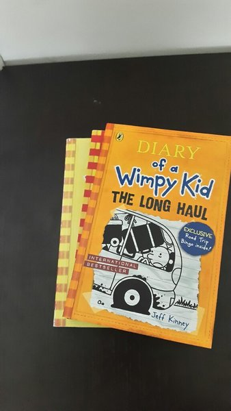 Used Bundle of diary of a wimpy kid books in Dubai, UAE
