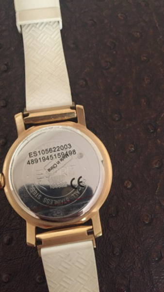 Used Esprit silicon band watch preloved  in Dubai, UAE