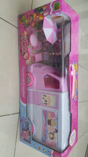 Used Truck food kitvhen toy for kids in Dubai, UAE