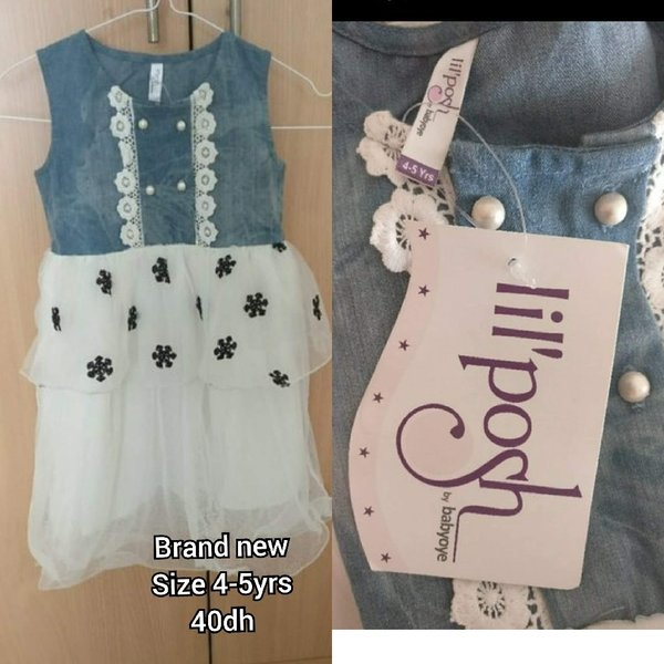 Used Brand New dress with tag, size 5 in Dubai, UAE