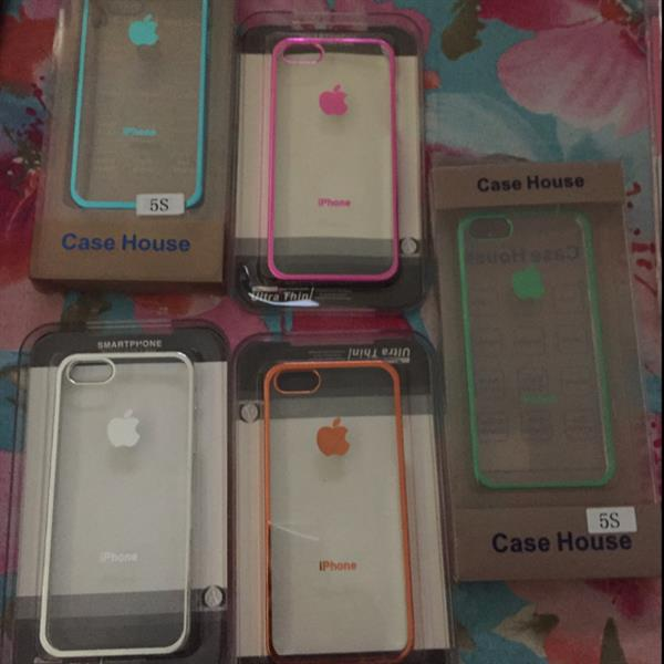Used Iphone 5s Fancy 5 Colors Covers in Dubai, UAE