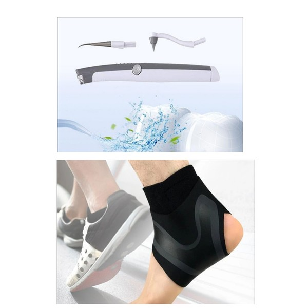 Used Dental cleaning system and ankle brace in Dubai, UAE