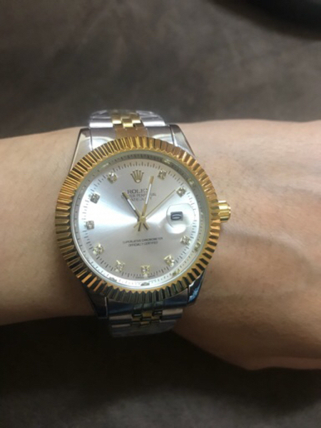 Used Silver and gold Rolex wristwatch ⌚️ in Dubai, UAE