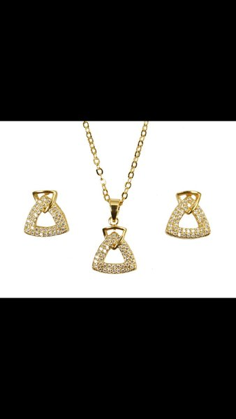 Used Gold plated jewellery set10 in Dubai, UAE