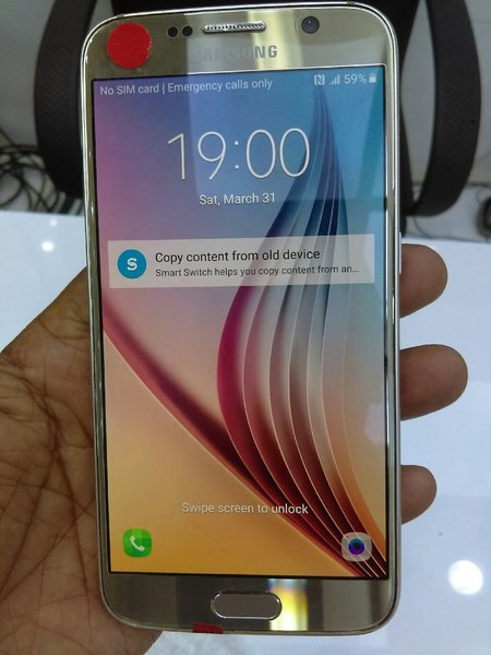 Used Samsung S6..32gb..3gb ram..4g..single si in Dubai, UAE