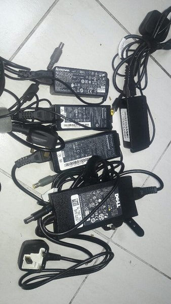 Used Dell and Lenovo laptop chargers in Dubai, UAE