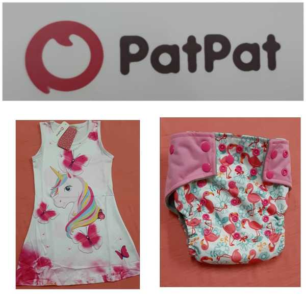 Used Baby girl dress and short from PatPat in Dubai, UAE