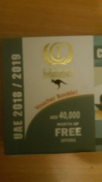 Used CEDARS International AED40k free Booklet in Dubai, UAE