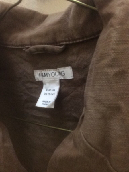 Used (kids)H&M young jacket in Dubai, UAE