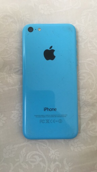 Used Activation Lock iPhone 5c blue 16gb in Dubai, UAE