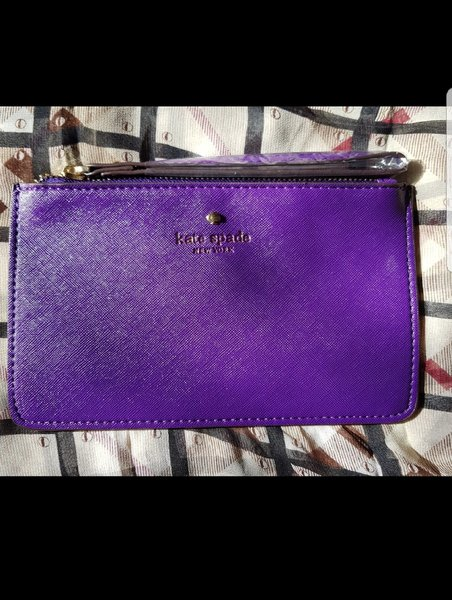 Used Katespade Wristlet - purple color in Dubai, UAE