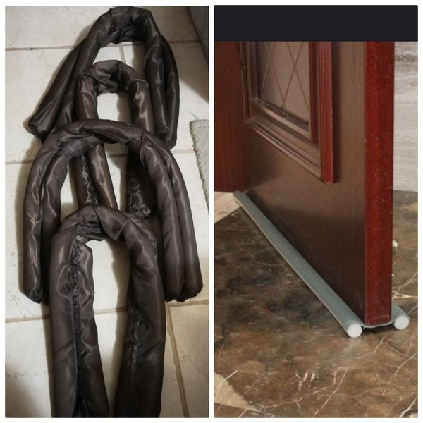 Used 2 pcs under door guard against insects in Dubai, UAE