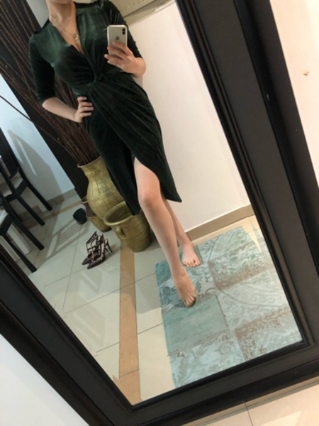 Used Velvet dress from Zara  in Dubai, UAE
