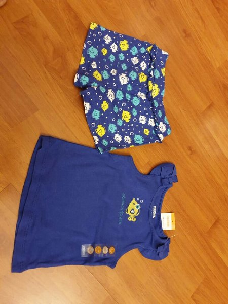 Used 3 sets of pijama for baby girl in Dubai, UAE