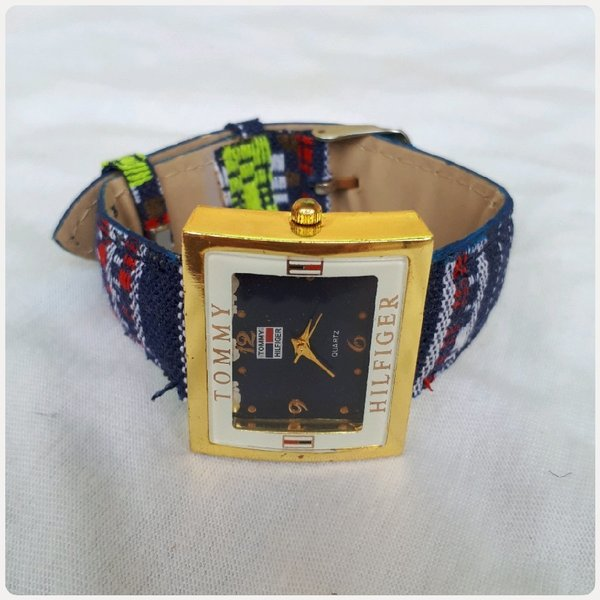 Used Watch Tommy Hilfiger blue color in Dubai, UAE