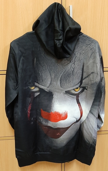 Used 3D clown hoodie (L) in Dubai, UAE