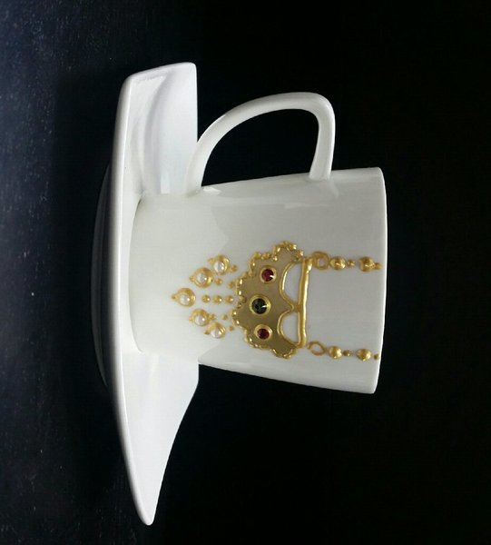 Used Set of tea cup (6 cups) in Dubai, UAE