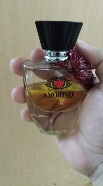 Used amorino arabic rose perfume.half used in Dubai, UAE