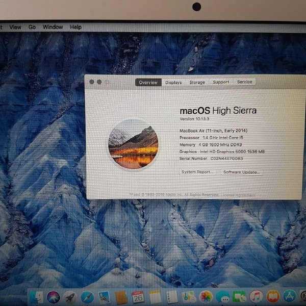 Used MacBook air 11 inch corei5 in Dubai, UAE