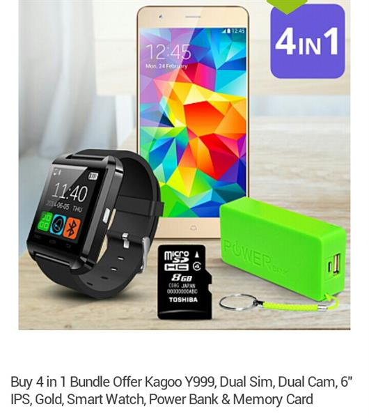 Used 4 In 1 All Brand New Mobile, smart Watch,Power Bank, Memory Crad in Dubai, UAE