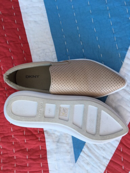 DKNY shoes -never worn - size 37.5
