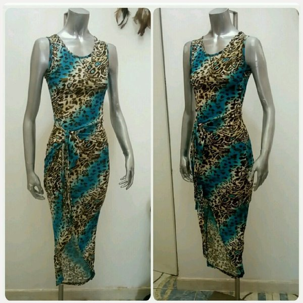 Used Dress with slit small size in Dubai, UAE