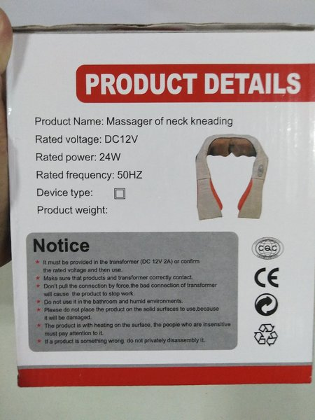 Used Massager of Kneck Kneading in Dubai, UAE