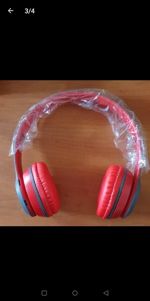 Used P47 WIRELESS HEADPHONE HURRY in Dubai, UAE