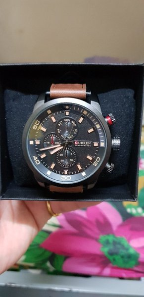 Used Curren Watch Brand New With Box🎁 in Dubai, UAE