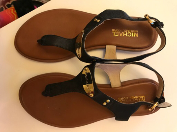 Used MK sandal  in Dubai, UAE