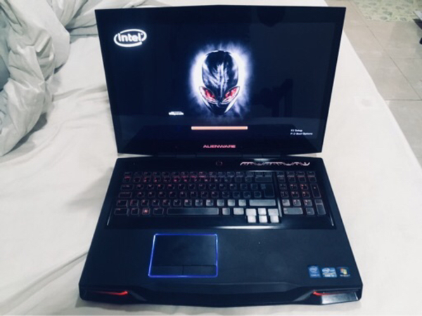 Used Alienware m17 high end gaming laptop  in Dubai, UAE