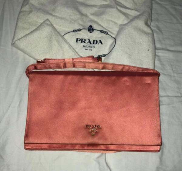 Used Prada clutch authentic  in Dubai, UAE